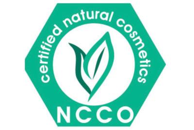 NCCO Siegel natürliche Inhaltsstoffe in Naturkosmetik