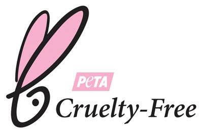 "PETA Siegel Angabe ""Tierversuchsfrei"" auf Kosmetikprodukten"